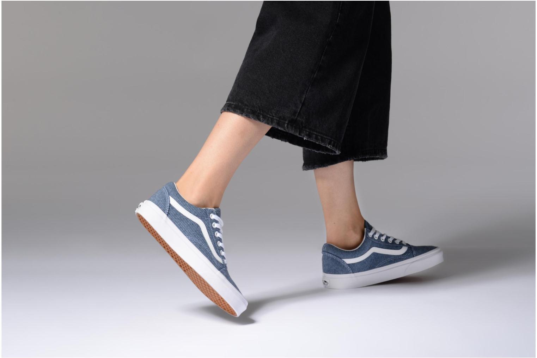 Sneakers Vans Old Skool W Blauw onder