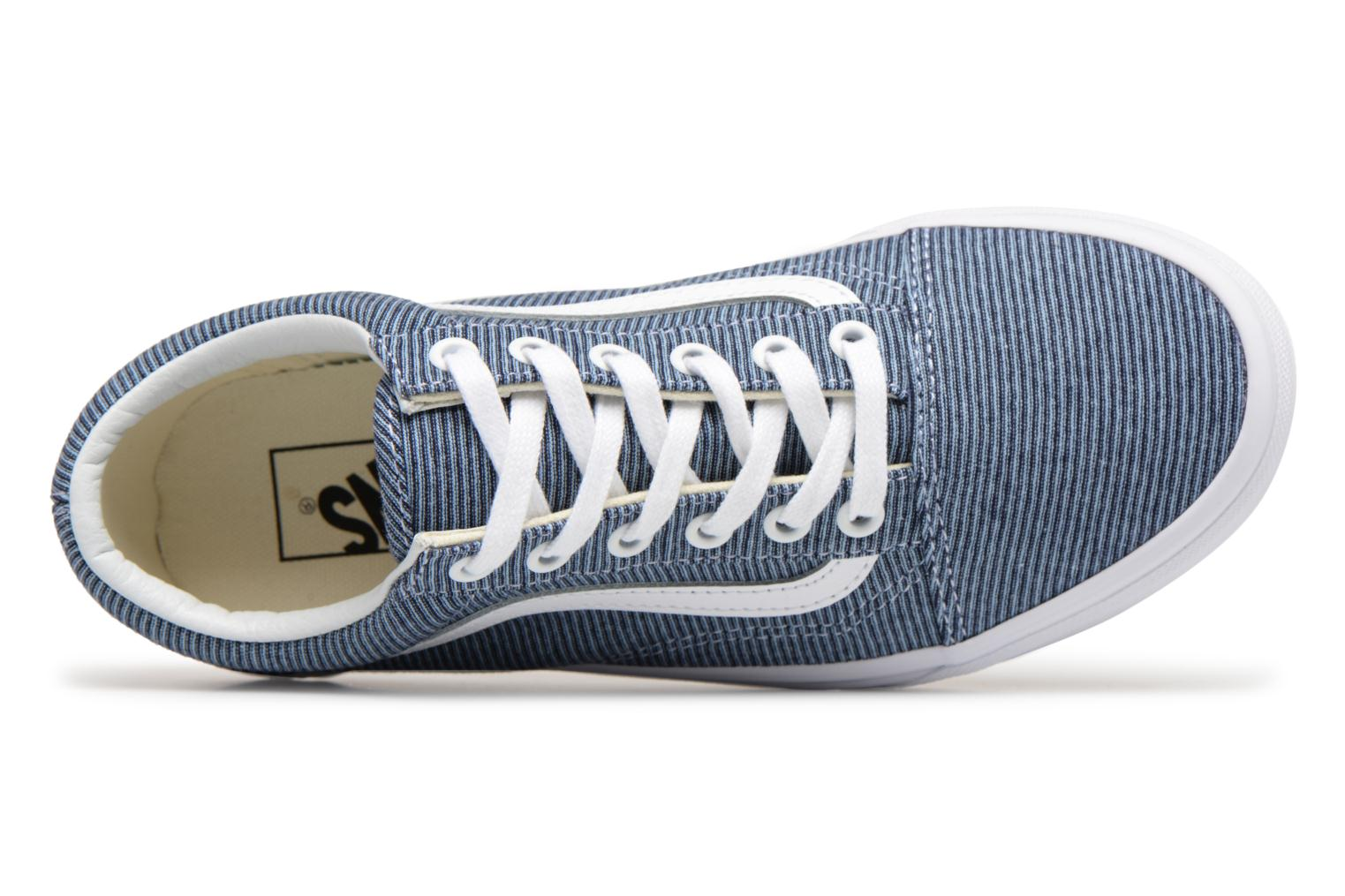 Sneakers Vans Old Skool W Blauw links