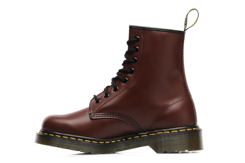 Bottines et boots Dr. Martens 1460 Smooth Rouge vue face