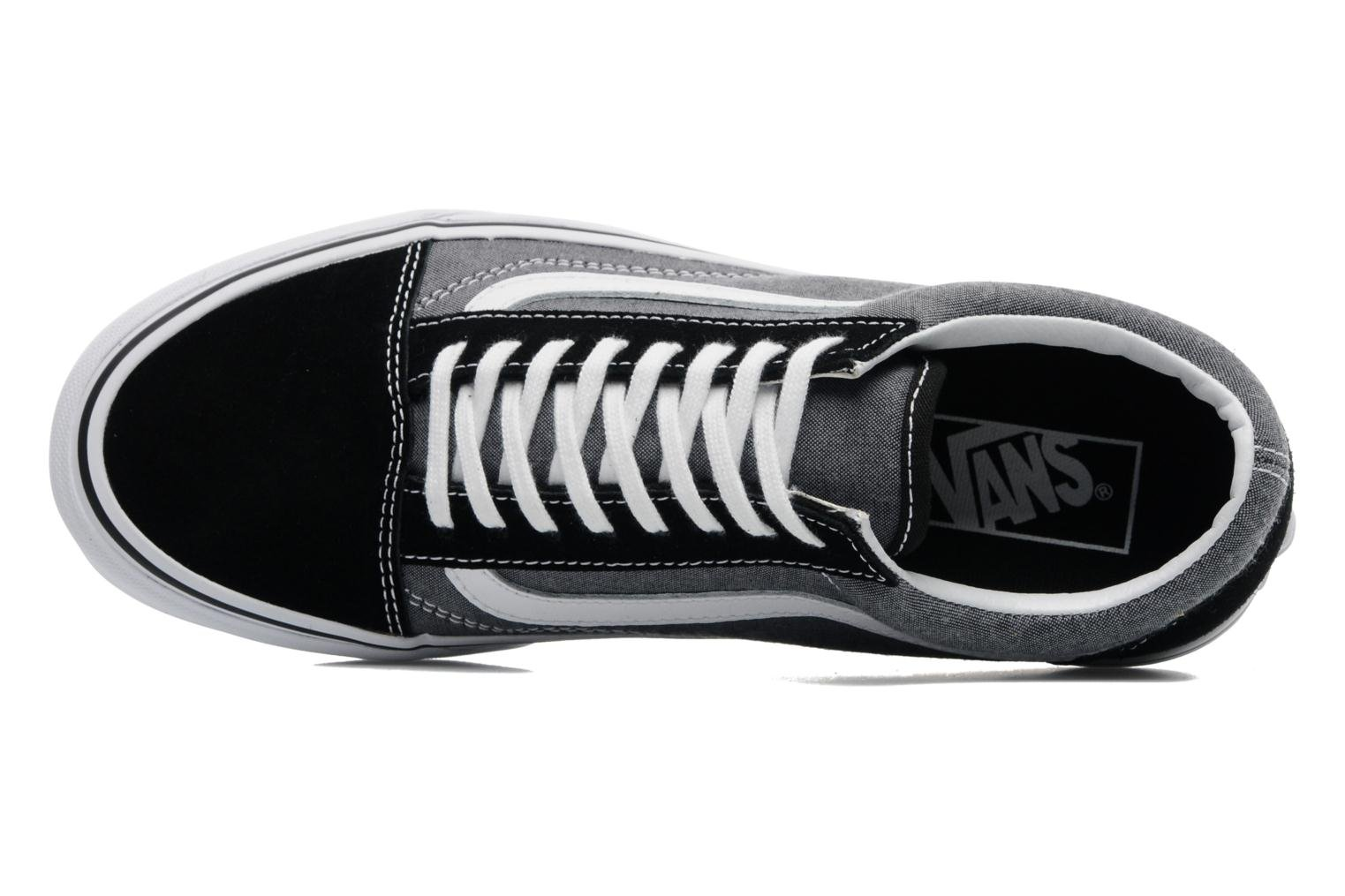 Old Skool Black (Suede & Chambray)