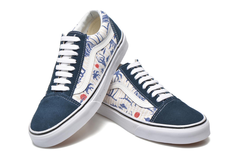 Sneaker Vans Old Skool beige 3 von 4 ansichten