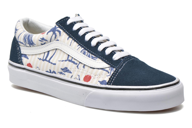 Sneaker Vans Old Skool beige detaillierte ansicht/modell