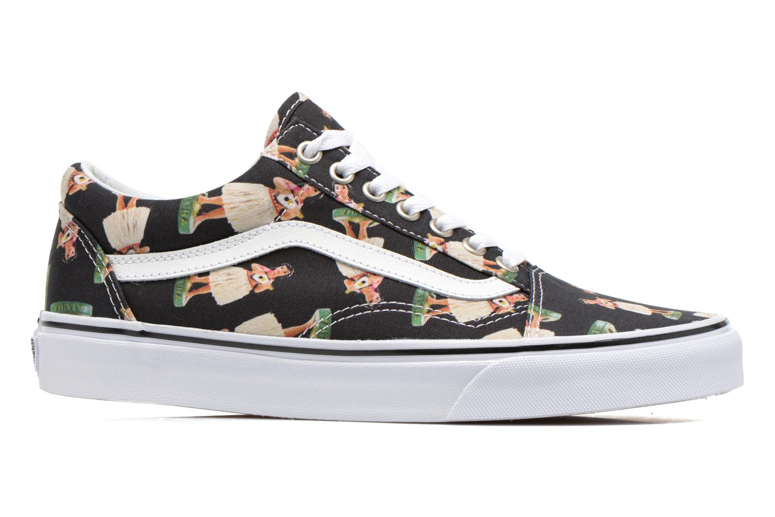 Sneakers Vans Old Skool Multicolor achterkant