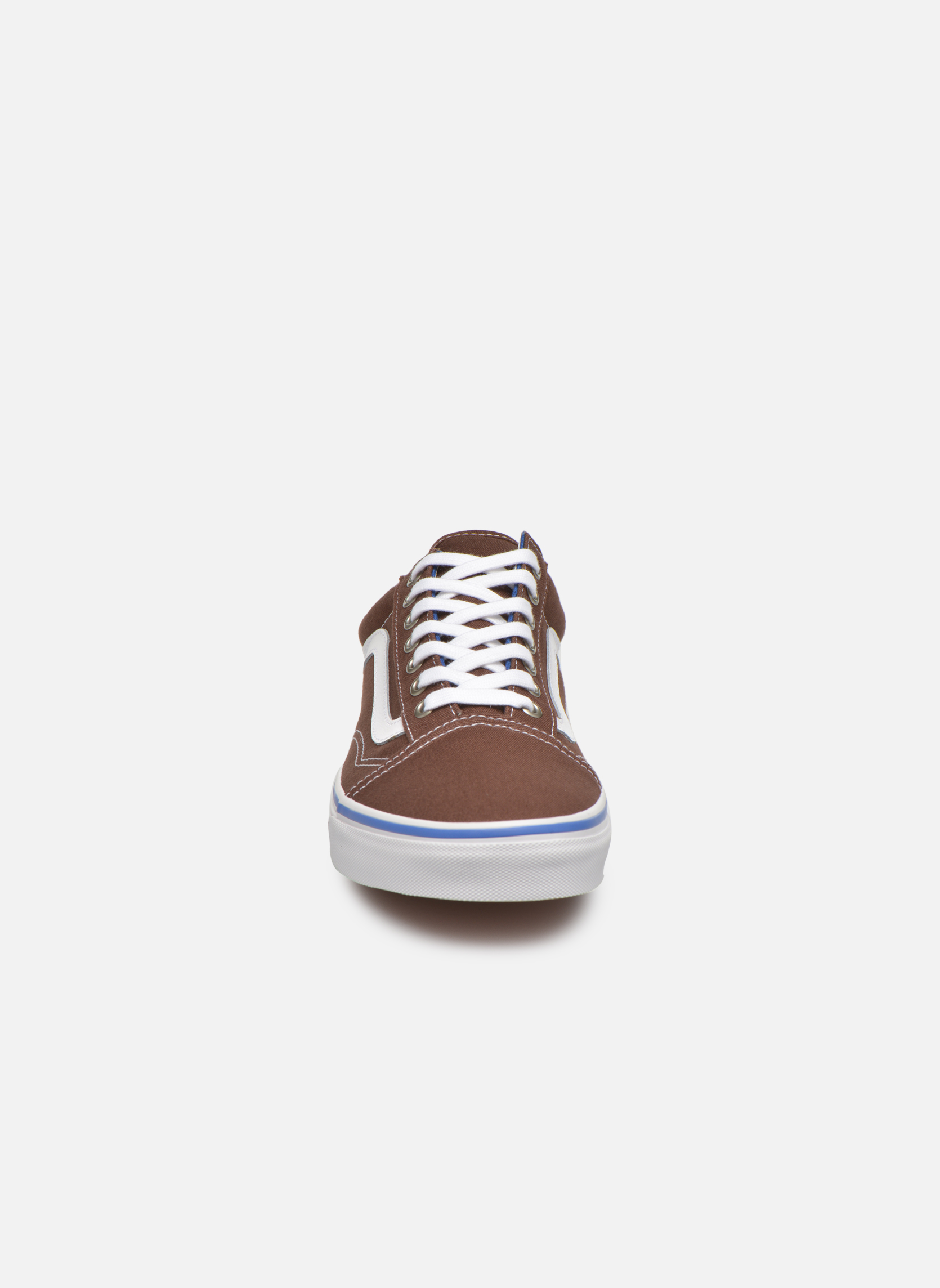 Trainers Vans Old Skool Brown model view