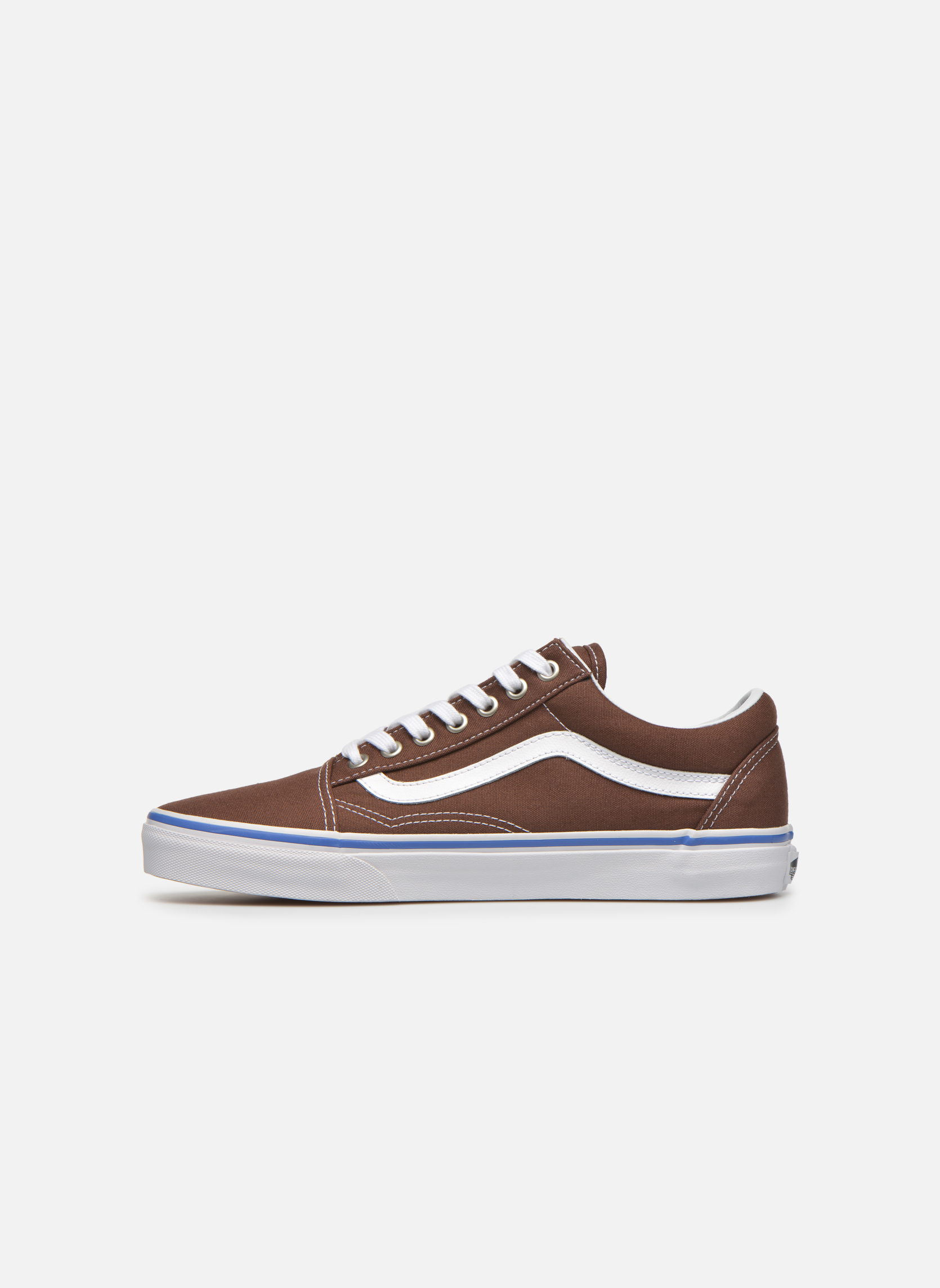 Trainers Vans Old Skool Brown front view