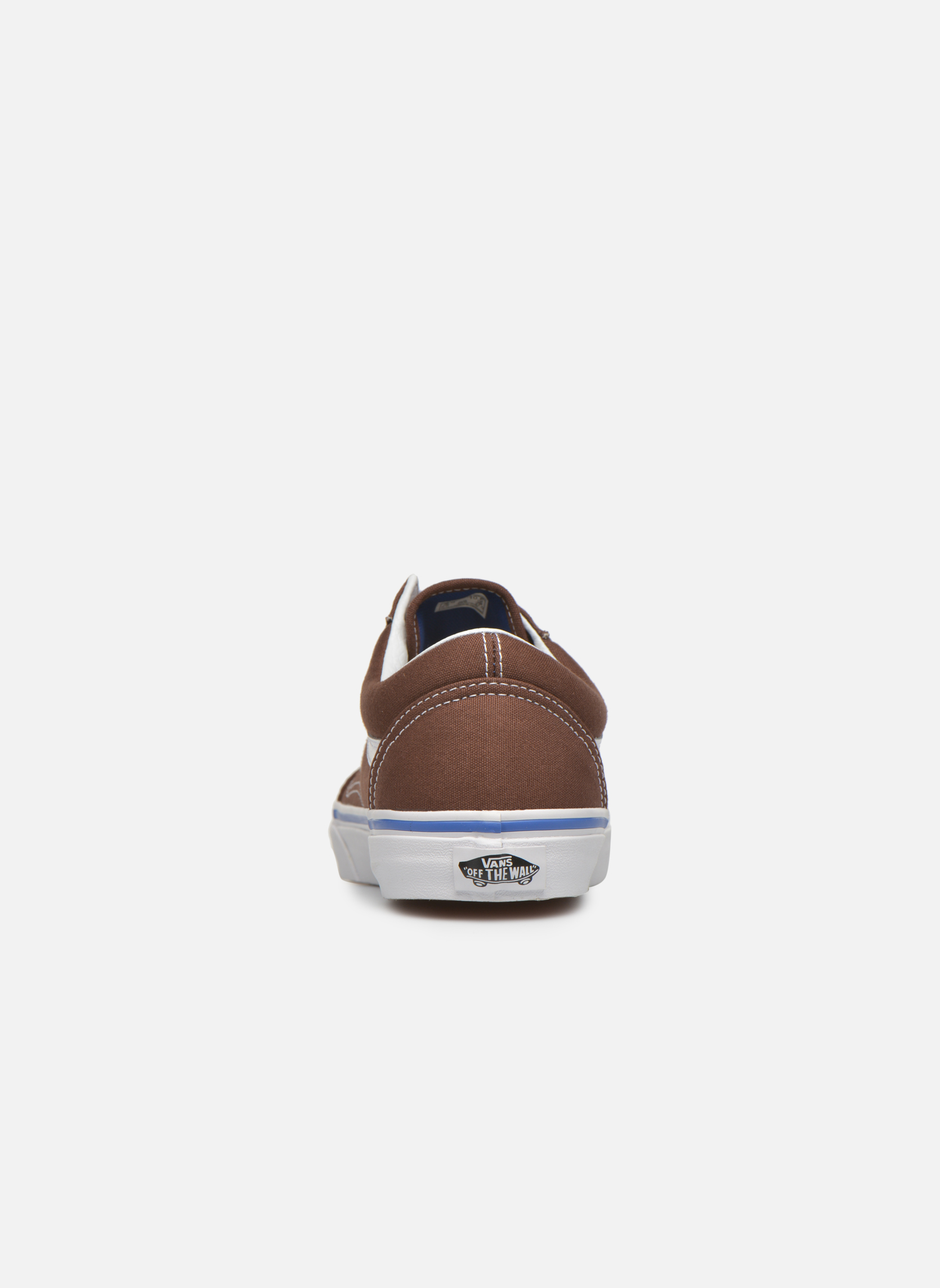Trainers Vans Old Skool Brown view from the right