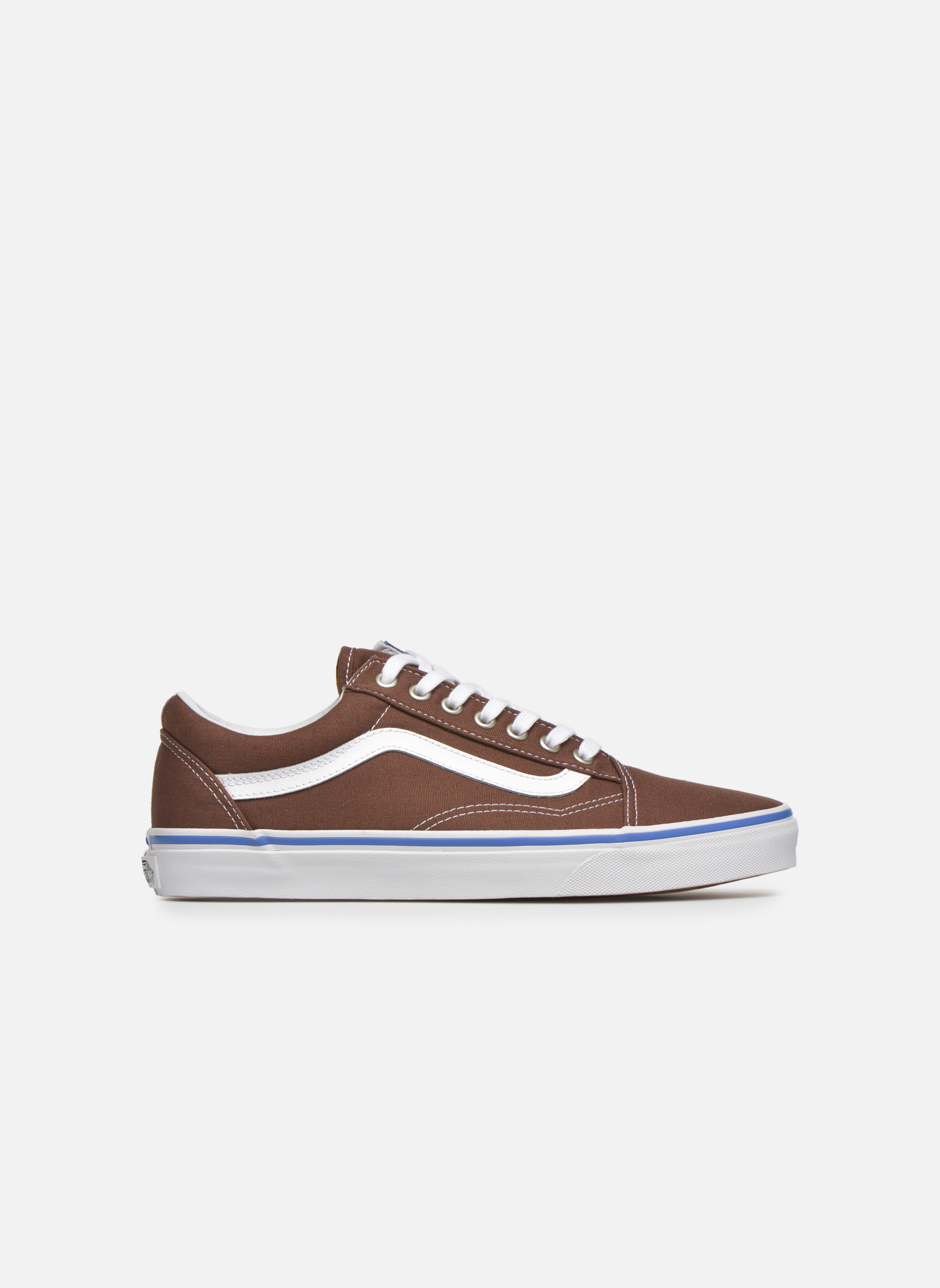 Trainers Vans Old Skool Brown back view