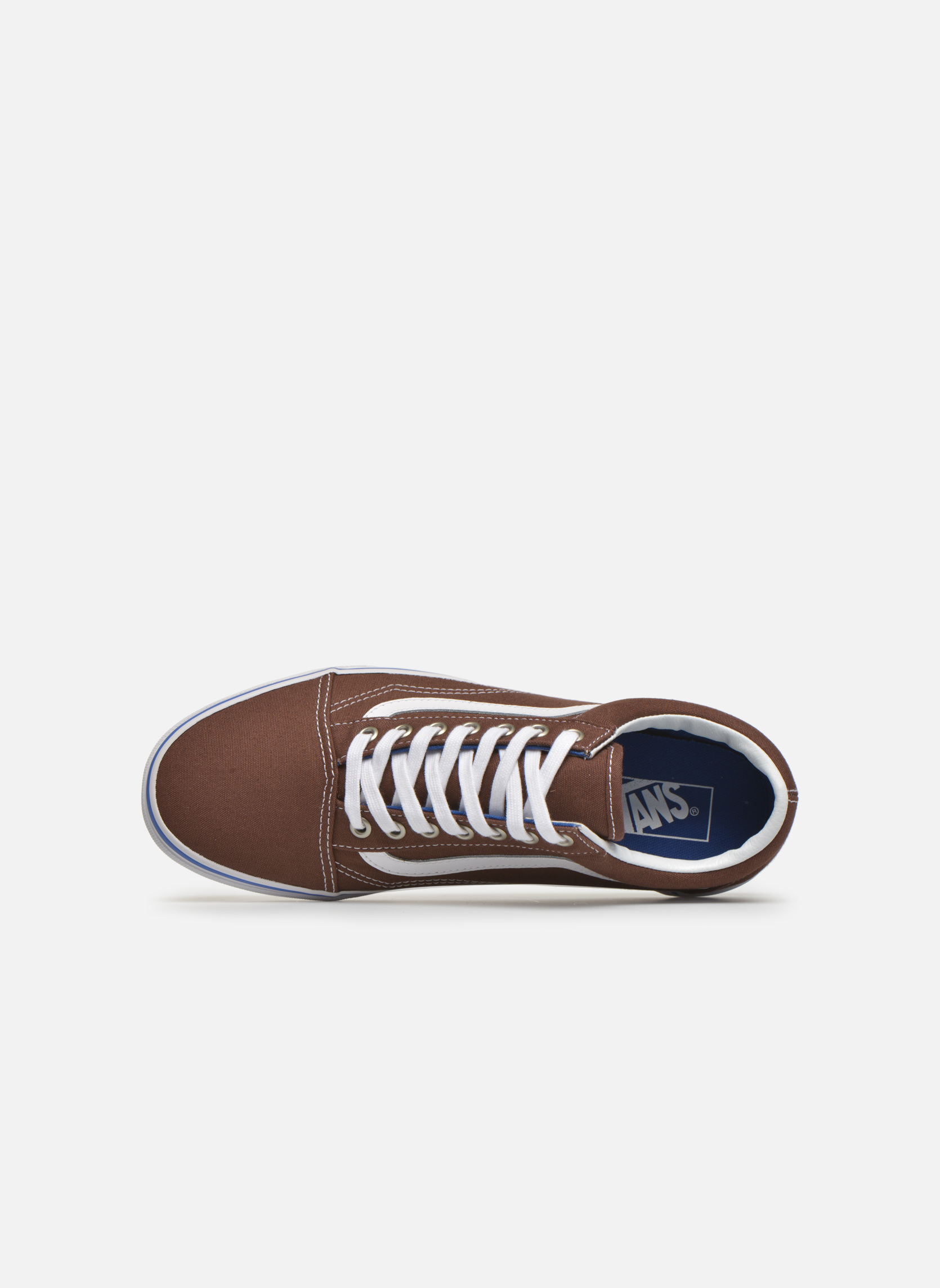 Sneakers Vans Old Skool Marrone immagine sinistra