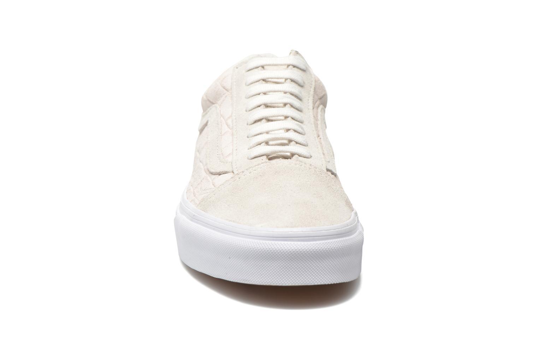 Baskets Vans Old Skool Blanc vue portées chaussures