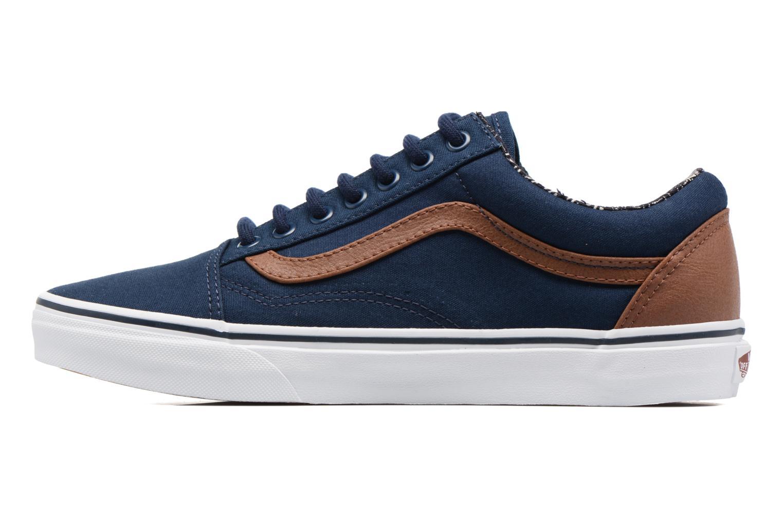 Sneaker Vans Old Skool blau ansicht von vorne