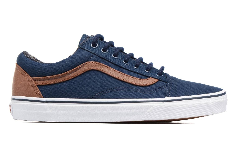 Sneaker Vans Old Skool blau ansicht von hinten