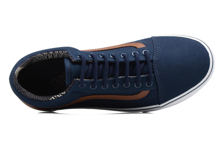Sneakers Vans Old Skool Blauw links