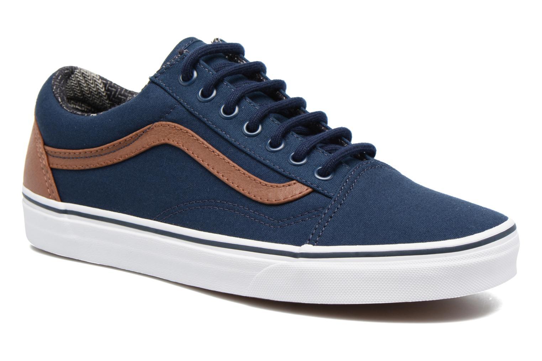 Sneakers Vans Old Skool Blauw detail