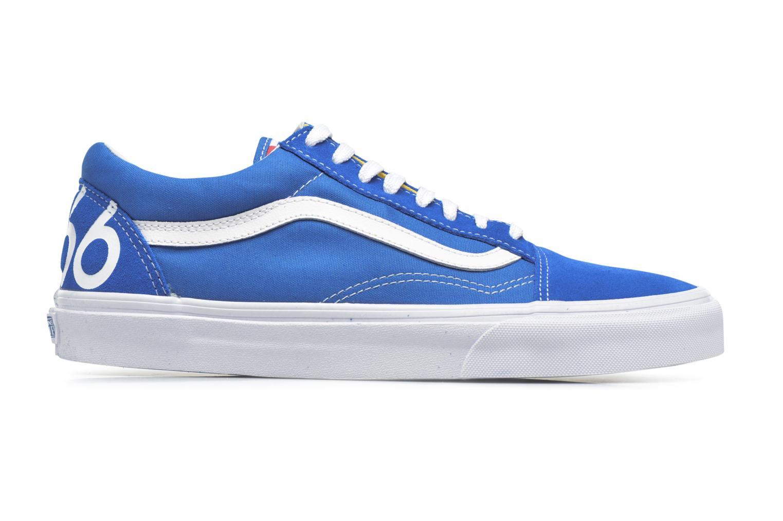 Trainers Vans Old Skool Blue back view