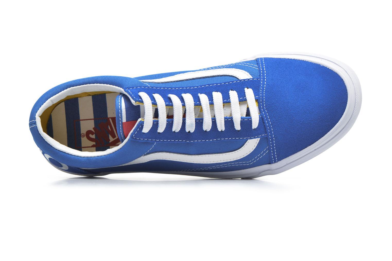 Sneakers Vans Old Skool Blå bild från vänster sidan