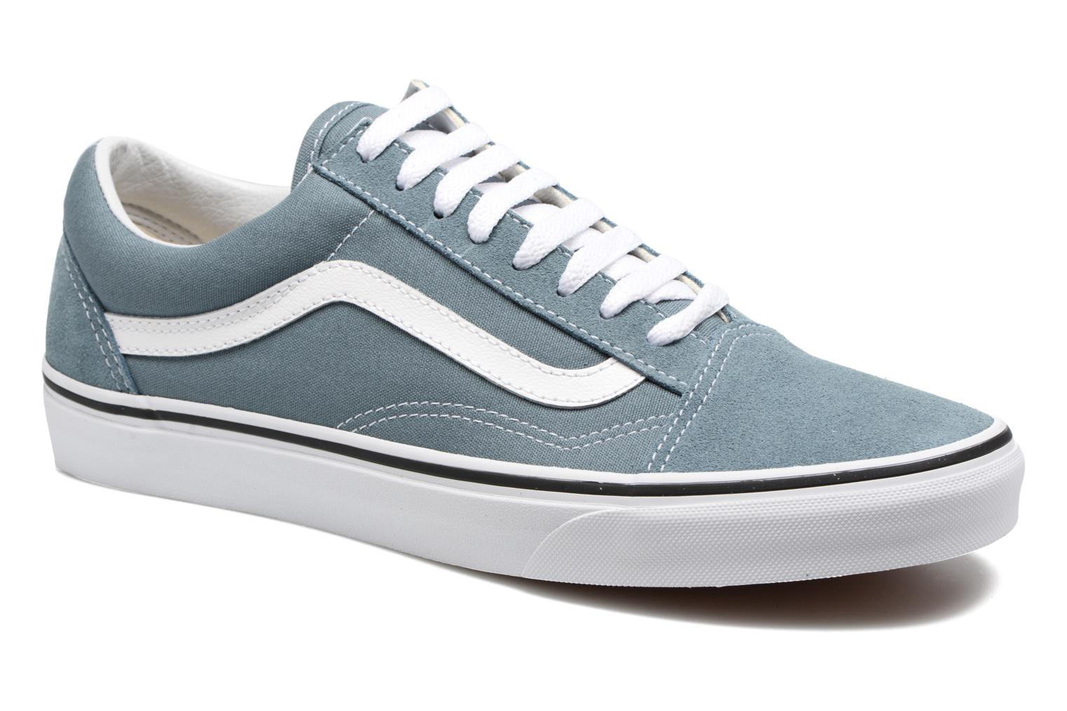 Baskets Vans Old Skool Gris vue détail/paire