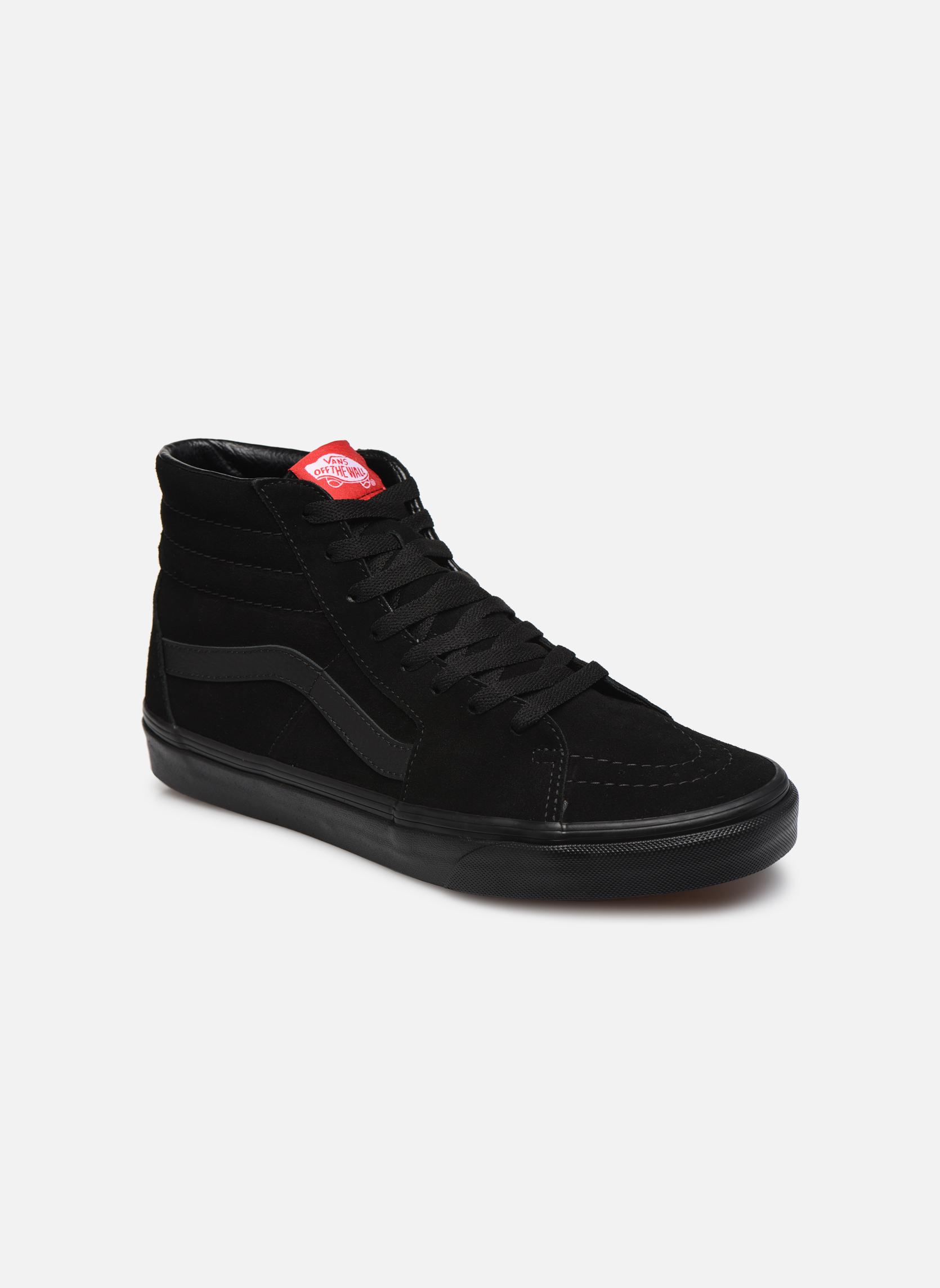Baskets Vans SK8 Hi M Noir vue détail/paire