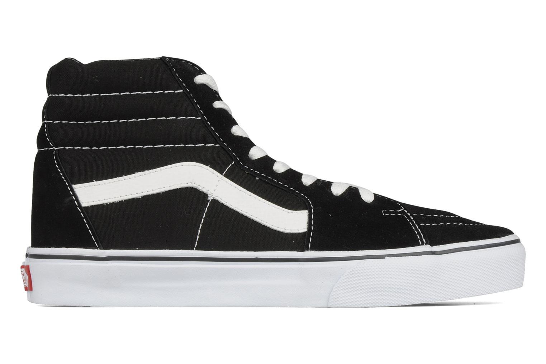 Sneaker Vans SK8 Hi M schwarz ansicht von hinten
