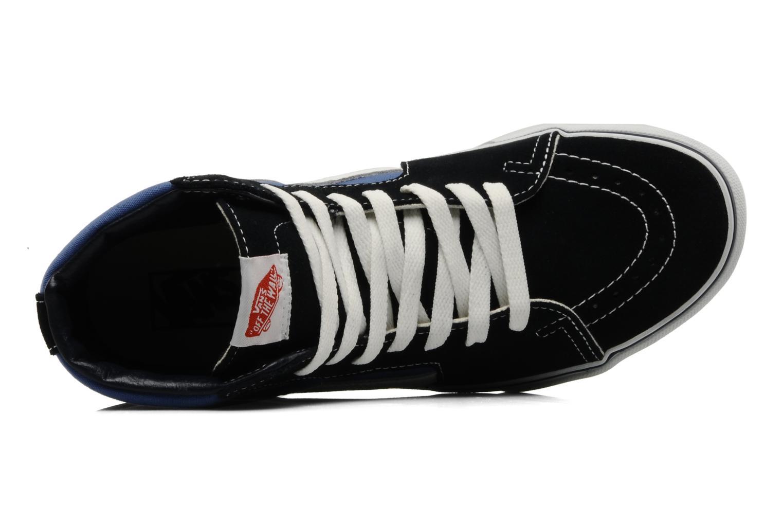 Baskets Vans SK8 Hi M Bleu vue gauche