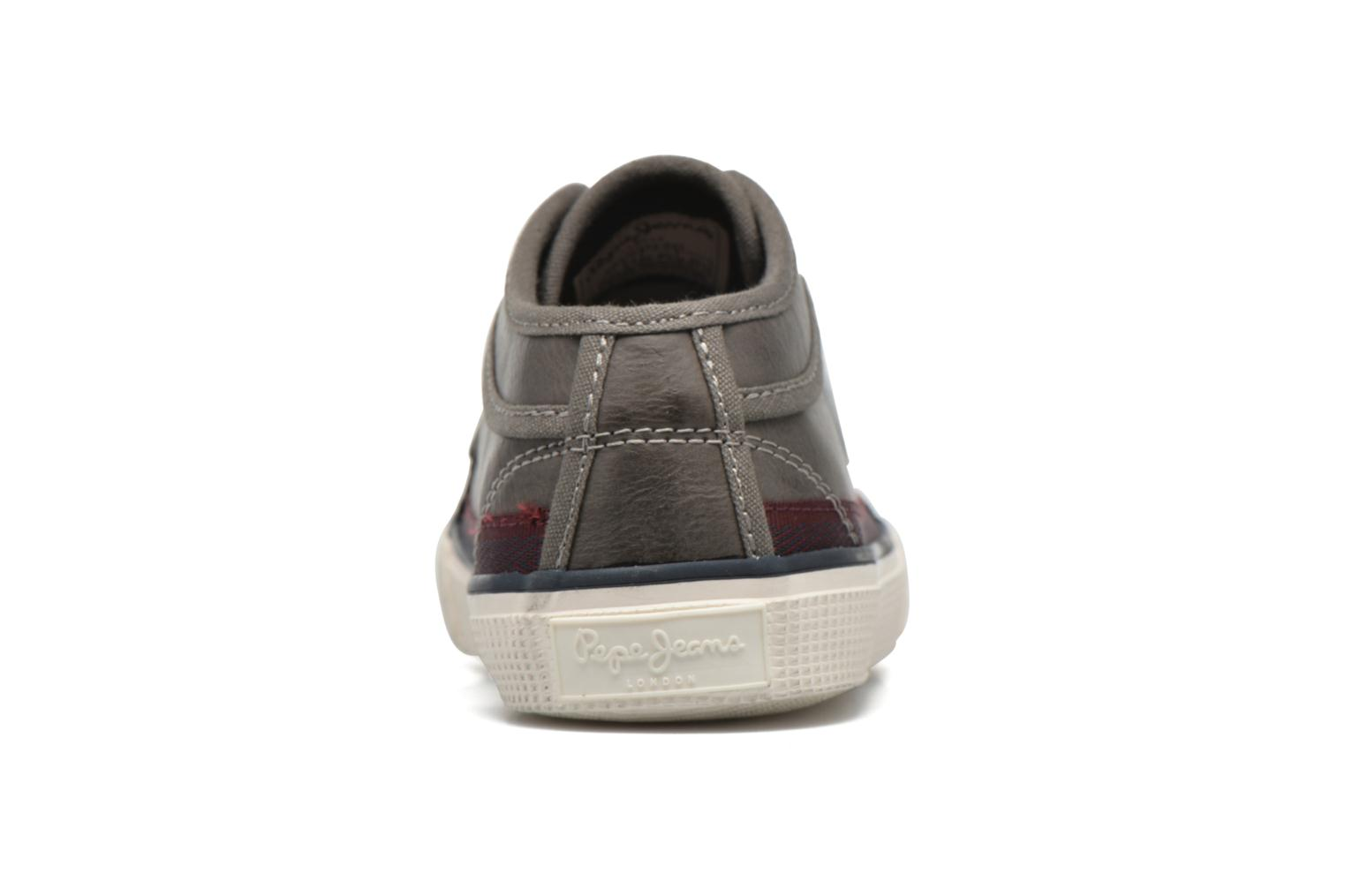 Baskets Pepe jeans Industry Incolore vue droite