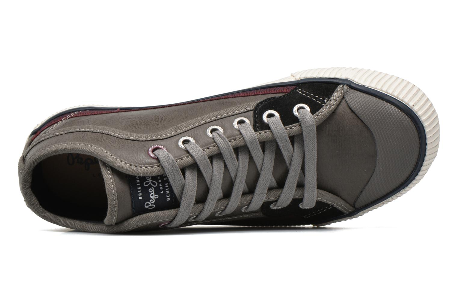 Trainers Pepe jeans Industry Colorless view from the left
