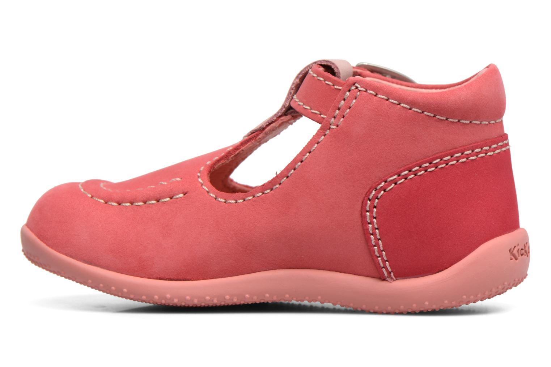 Sommersko Kickers Bonbek Pink se forfra
