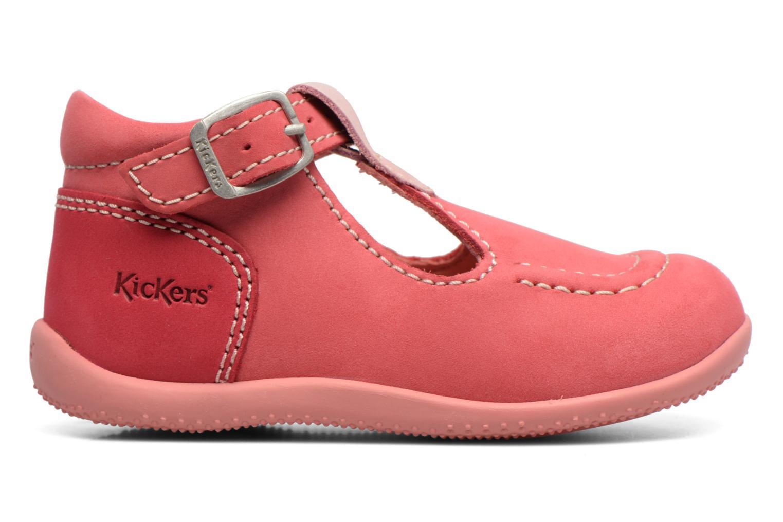 Zomerlaarsjes Kickers Bonbek Roze rechts