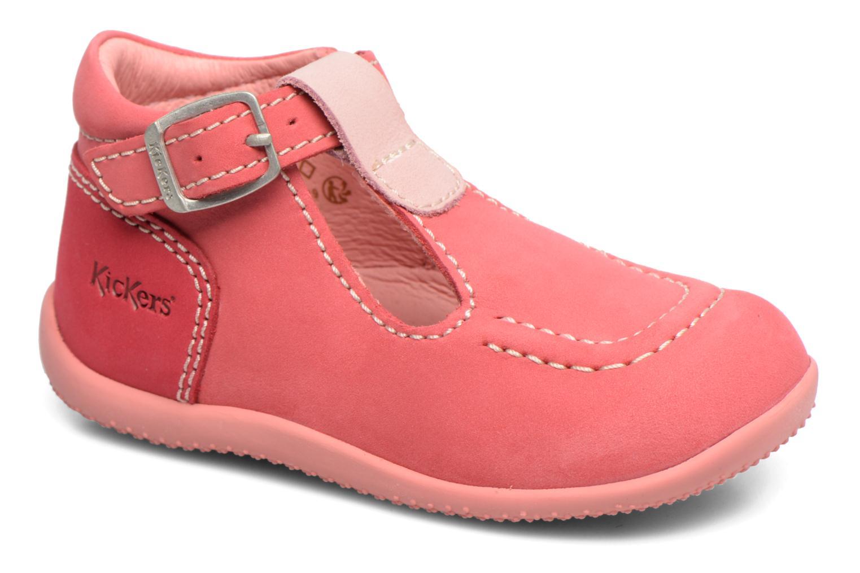 Sommersko Kickers Bonbek Pink detaljeret billede af skoene