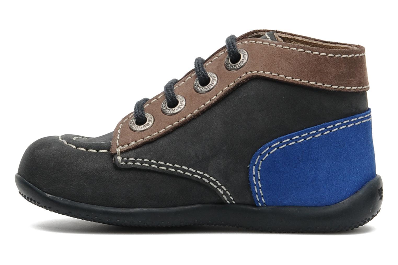 Boots en enkellaarsjes Kickers Bonbon Blauw voorkant