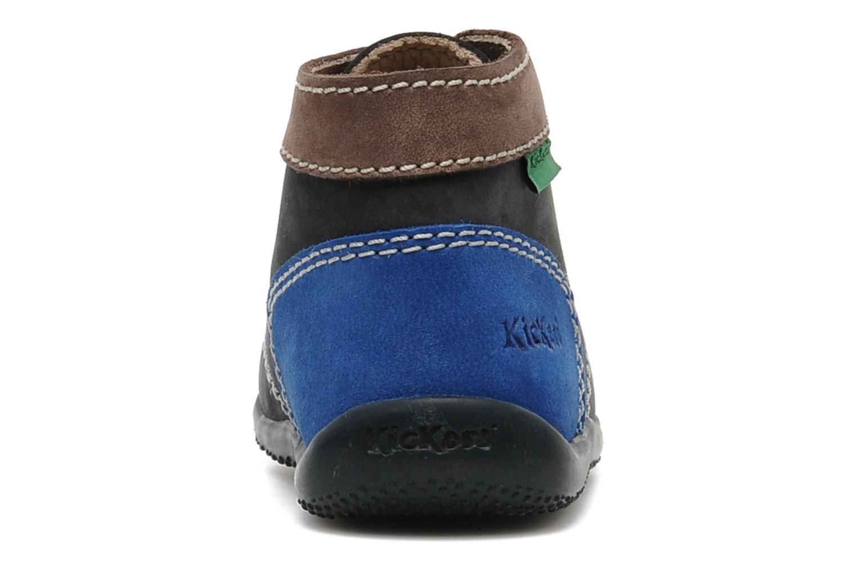 Boots en enkellaarsjes Kickers Bonbon Blauw rechts