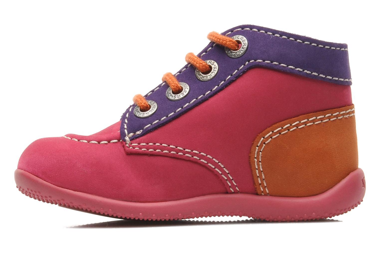 Stiefeletten & Boots Kickers Bonbon rosa ansicht von vorne