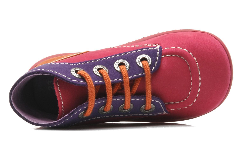 Stiefeletten & Boots Kickers Bonbon rosa ansicht von links
