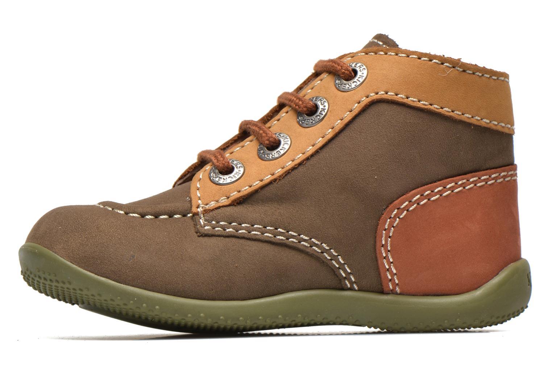 Boots en enkellaarsjes Kickers Bonbon Groen voorkant