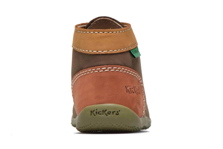 Boots en enkellaarsjes Kickers Bonbon Groen rechts