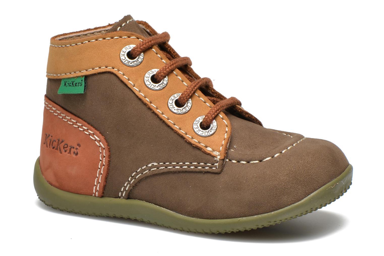 Boots en enkellaarsjes Kickers Bonbon Groen detail