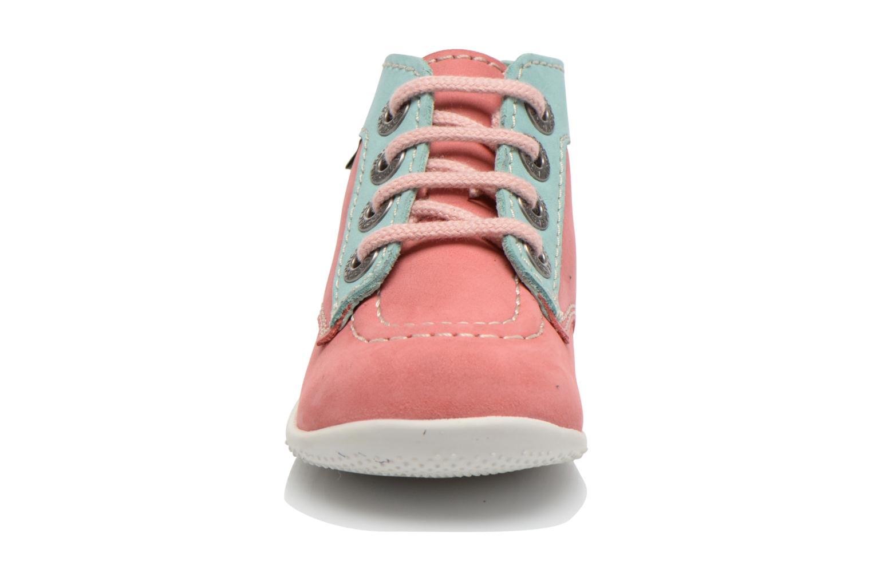 Stiefeletten & Boots Kickers Bonbon rosa schuhe getragen