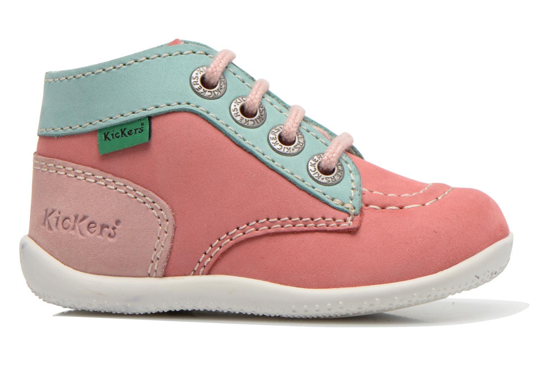 Stiefeletten & Boots Kickers Bonbon rosa ansicht von hinten