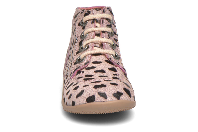 Botines  Kickers Bonbon Rosa vista del modelo