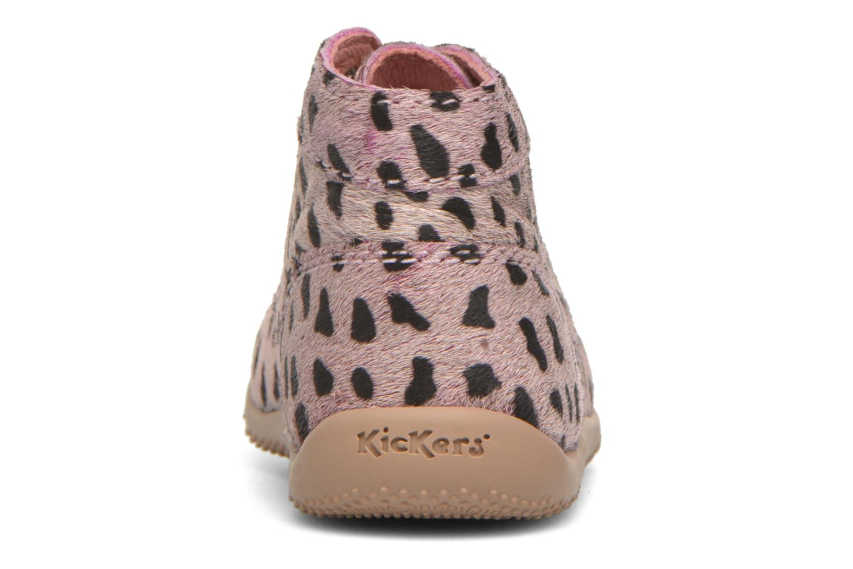 Boots en enkellaarsjes Kickers Bonbon Roze rechts