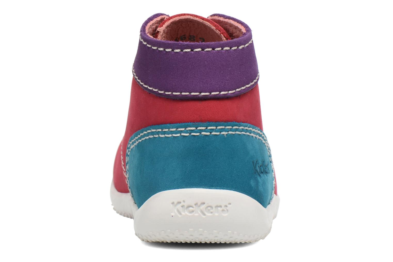 Stiefeletten & Boots Kickers Bonbon rosa ansicht von rechts