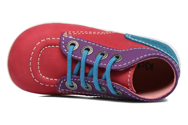 Ankelstøvler Kickers Bonbon Pink se fra venstre