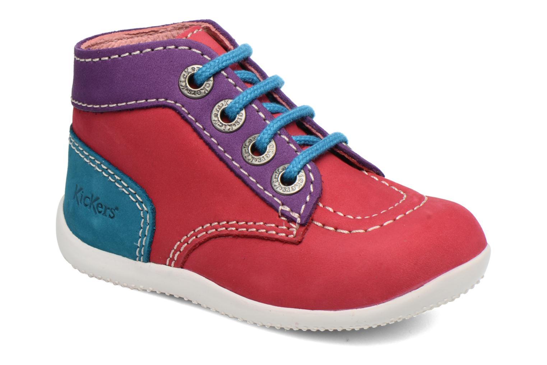 Boots Kickers Bonbon Rosa detaljerad bild på paret