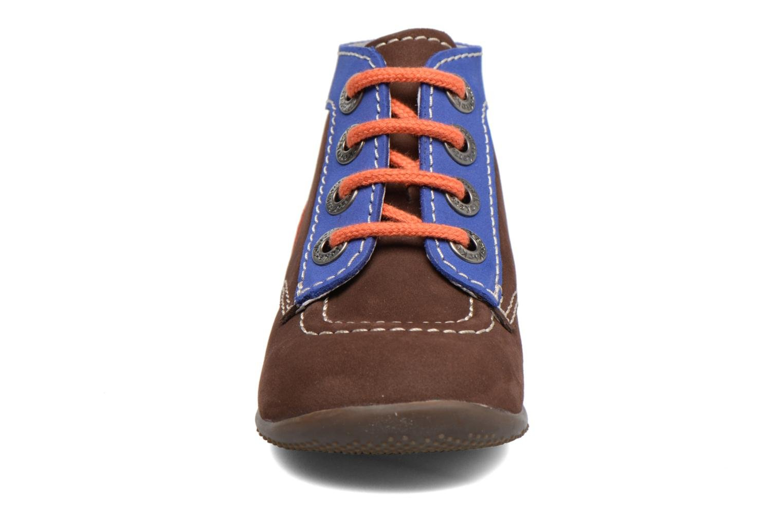Bonbon Marron Fonce Bleu Orange