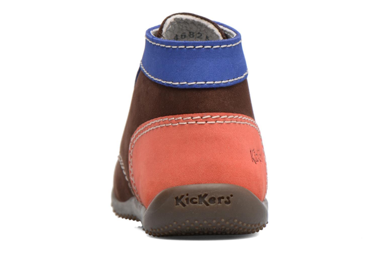 Boots en enkellaarsjes Kickers Bonbon Bruin rechts