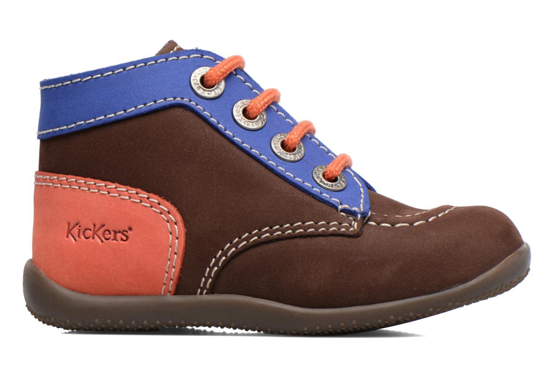 Stiefeletten & Boots Kickers Bonbon braun ansicht von hinten