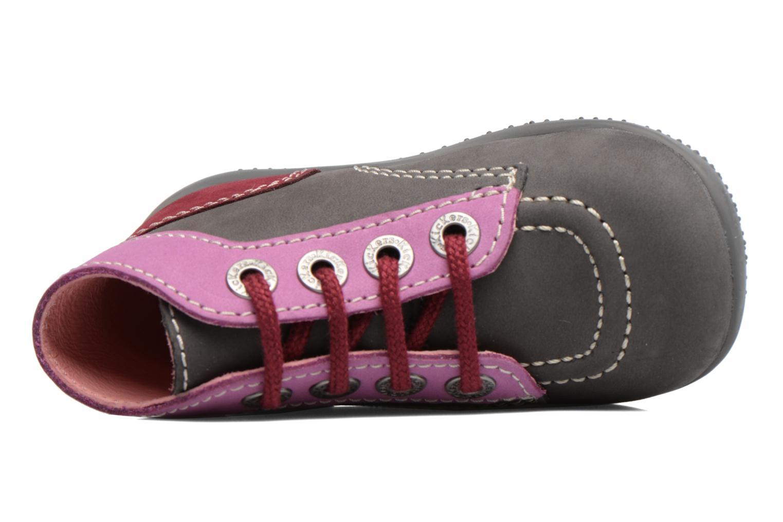 Boots en enkellaarsjes Kickers Bonbon Grijs links