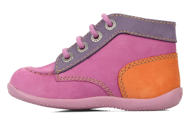 Stiefeletten & Boots Kickers Bonbon lila ansicht von vorne