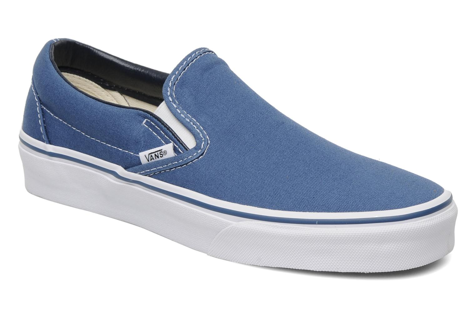 Vans Homme Estate Bleu Checkerboard Classic Slip On Baskets yYRTW4IjP