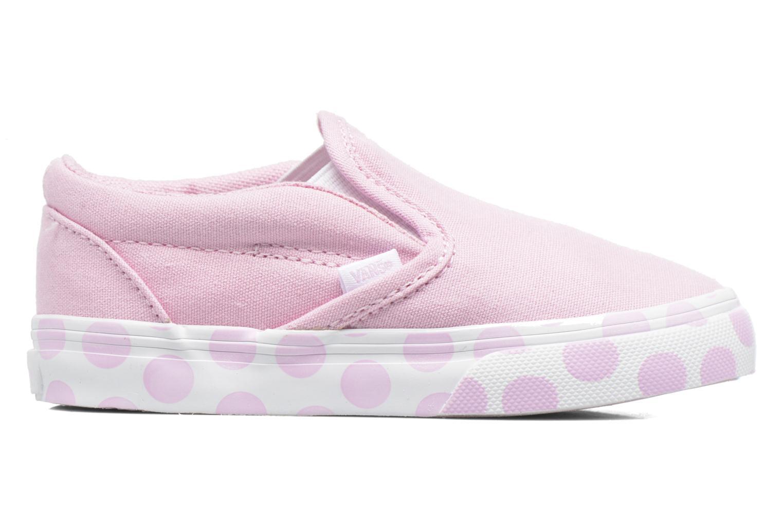 Sneaker Vans Classic Slip-on BB rosa ansicht von hinten