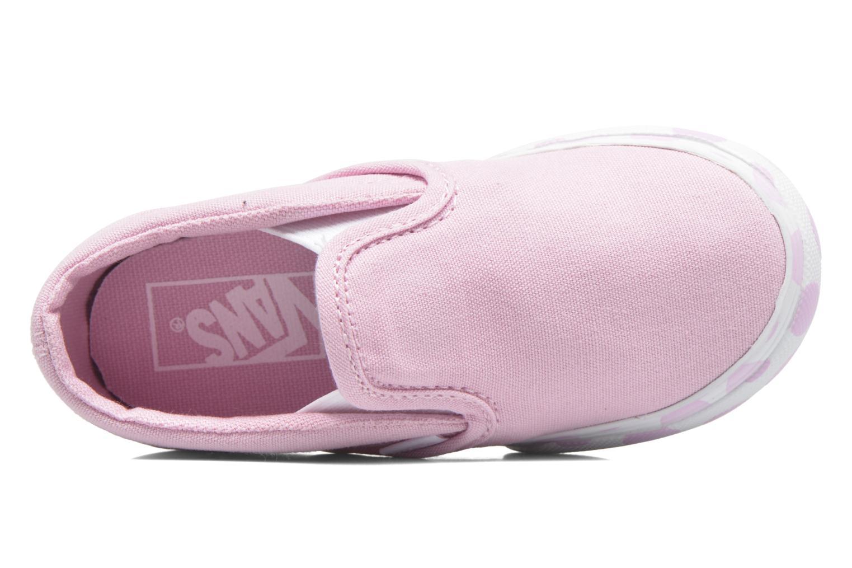 Sneaker Vans Classic Slip-on BB rosa ansicht von links